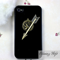 The Hunger Games Inspired ArrowMockingjay Iphone 4S by Shininggift