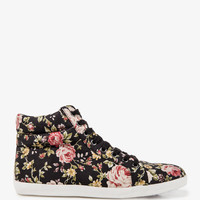 Floral Print High Tops | FOREVER21 - 2000049579