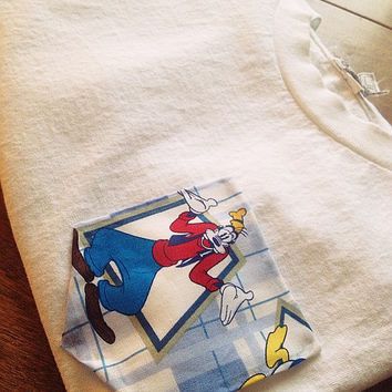 Goofy pocket tee