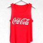 Coca Cola Tank - Red | BATOKO