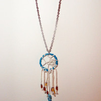 Dream Catcher Necklace by CreativeLove18 on Etsy