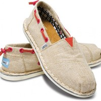 New Styles - Burlap Women&#x27;s Bimini Stitchouts | TOMS.com