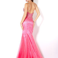 Beaded Net Prom Gown, Style 4432