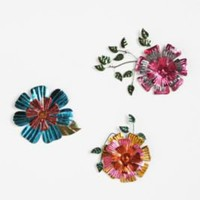 Floral Wall Sculptures