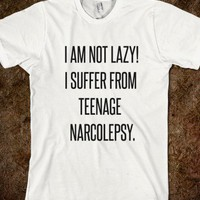 Teenage Narcolepsy Shirt