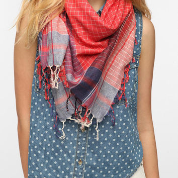 BDG Plaid Square Scarf