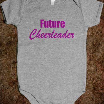 Future Cheerleader - Baby Onsie - Underline Designs