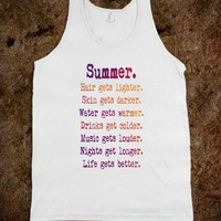♥ ♥ ♥    SUMMER TANK TOP   ♥ ♥ ♥   The ORIGINAL  by M✿nika  Strigel for skreened.com in different colours and sizes