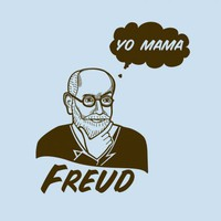 $20.00 Yo Mama Freud T-shirt - BustedTees