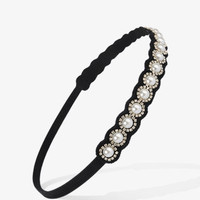 Pearlescent Rhinestone Headband | FOREVER 21 - 1021840517