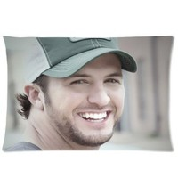 "Amazon.com: Luke Bryan Pillowcase Covers Standard Size 20""x30"" PWC0700: Home & Kitchen"