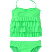 Girls Ruffle-Tiered Tankinis | Old Navy