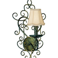 Fredrick Ramond FR49384 Chantilly 1 Light Wall Sconce | Capitol Lighting 1800lighting.com