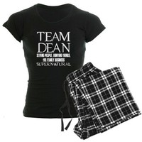 Team Dean Supernatural Winchester Pajamas by TeamDeanSupernatural