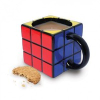 Amazon.com: Rubik&#x27;s Cube Ceramic Coffe Mug / Cup, Gift Boxed: Home &amp; Kitchen