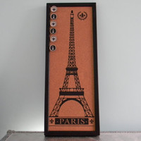 Eiffel Tower Cork Board