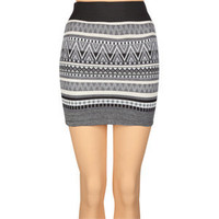 SPOON Zig Zag Sweater Knit Skirt 191530127 | clothing | Tillys.com