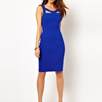 Vesper Pencil Dress with Cut Out Detail at asos.com