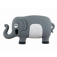 Amazon.com: HJX Iphone 4 3D Cartoon Cute Elephant Animal Silicone Case Cover for iPhone 4 4S Gray + Gift 1pcs Insect Mosquito Repellent Wrist Bands bracelet: Cell Phones &amp; Accessories