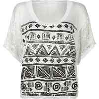 FULL TILT Lace Dolman Womens Top 185424150 | clothing | Tillys.com