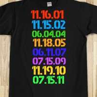 Date each Harry Potter movie came out in theaters - Movieaholic Shirts