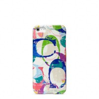 Coach :: New Poppy Stamped c Iphone 5 Case
