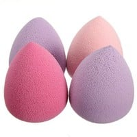 Beauty Bottle Gourd Water Drop Smooth Flawless Makeup Powder Clean Blender Puff