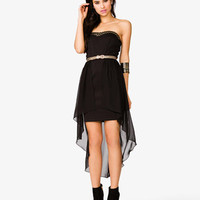 Layer Strapless Scuba Dress | FOREVER 21 - 2046717463