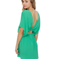 Blaque Label Dress - Mint Dress - Sea Green Dress - Backless Dress - $80.00