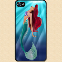 Iphone case Ariel The Little Mermaid iphone 4 case cool awesome Iphone 4s case