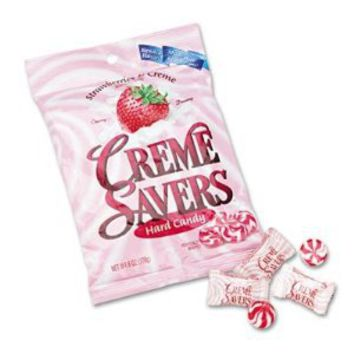 LifeSavers® 08393 - STRAWBERRY CREME SAVERS HARD CANDY, 6OZ PACK: Amazon.com: Grocery & Gourmet Food
