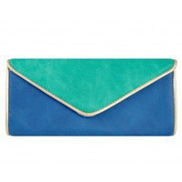 Blue Angie Clutch