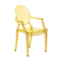 Fab.com Pop-Up Shop: Lou Lou Ghost Armchair Yellow
