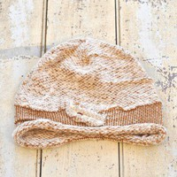 Franc Watch Hat - $28.00: From ourchiox.com, this soft structured hat comes in a shade of interwoven cream.