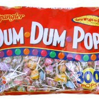 Spangler Dum Dum Pops Candy, 300-Count: Amazon.com: Grocery & Gourmet Food