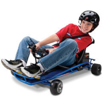 The Corner Drifting Go Cart - Hammacher Schlemmer