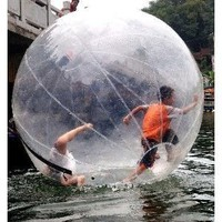 Amazon.com: Walk on Water Ball Zorb Inflatable Roller Ball in water: Sports & Outdoors