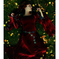 Morgause medieval costume by CostureroReal on Etsy