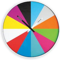 spectrum wall clock