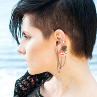 Tribal Triangle Ear Cuff