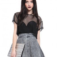 Mesh Crop Top - What's New | GYPSY WARRIOR