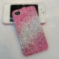 iphone 4 case/ iphone 4s case/ iphone case/ iphone 4s cover - gradient color crystal iphone case