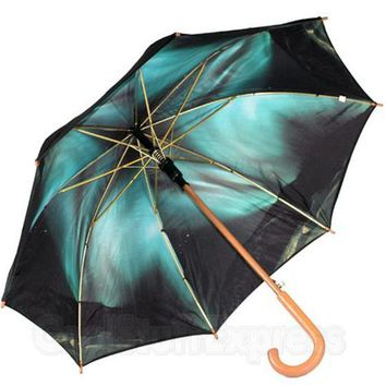 Aurora Borealis Northern Lights Umbrella