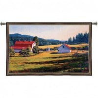 Pure Country Weavers Encroaching Shadows Tapestry - 2757-WH - Tapestries - Wall Art & Coverings - Decor