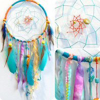 Calypso the Island Sea Nymph Native Woven Dream catcher