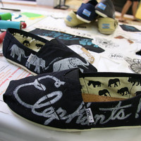 Elephant Custom TOMS Shoes by themattbutler on Etsy