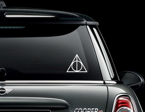 Harry Potter Deathly Hallows Symbol Decal / by GoodMommyLLC