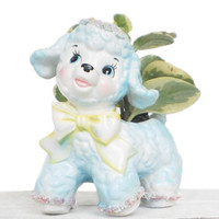 Pastel Spring Home Decor Lamb Planter by RhettDidntGiveADamn
