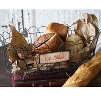 Le Pain 17&quot; Wire Bread Basket