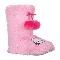 Light Pink Hello Kitty Slippers